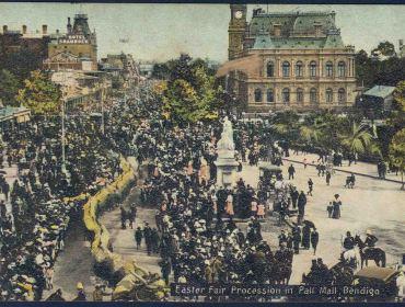 Lost Bendigo Photos - Pater, W. T. postcards.