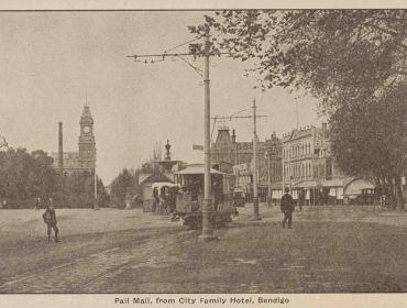 Lost Bendigo Photos - Shirley Jones collection of Victorian postcards